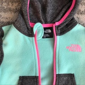 The North Face Jackets & Coats - Baby girl North Face fleece jacket 3-6M
